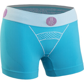 FOR.BICY Downtown Boxershorts with Pad Women turquoise/white